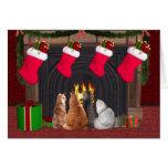 Christmas kitties card