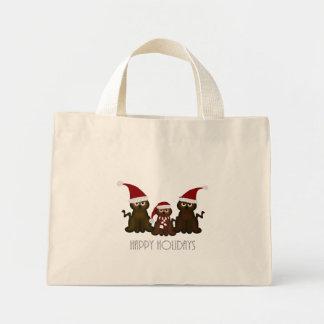 Christmas Kitties Happy Holidays Tote Bag