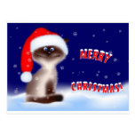 Christmas Kitty Post Cards