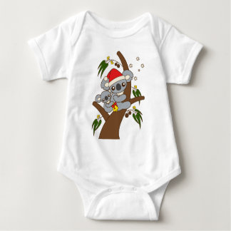 Christmas Koalas Baby Bodysuit