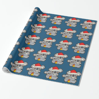 Christmas Koalas Wrapping Paper