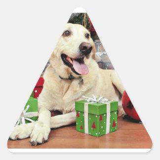 Christmas - Labrador - Ally Stickers