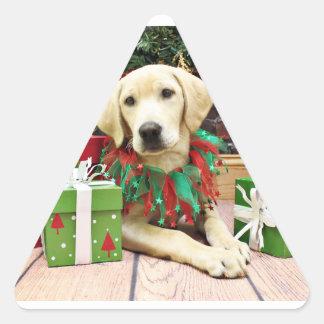 Christmas - Labrador - Buck Stickers