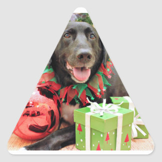 Christmas - Labrador - Lennon Stickers