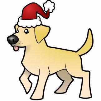 Christmas Labrador Retriever Ornament Photo Sculpture Decoration