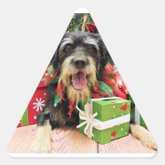 Christmas - Labrador X - Augie Stickers