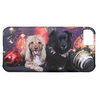 Christmas - Labrador X Cheyanne Cocker X Sundance iPhone 5C Cases