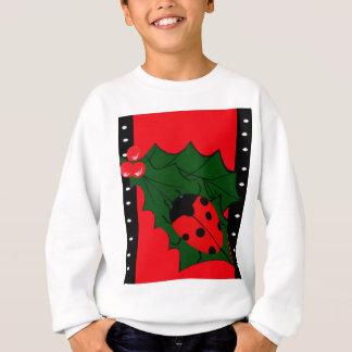 Christmas Lady-bug Sweatshirt