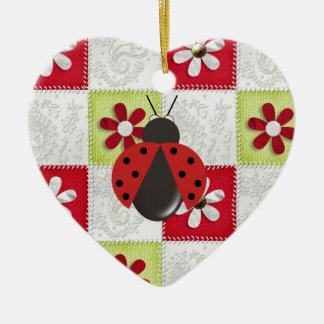 Christmas Ladybug Christmas Ornament