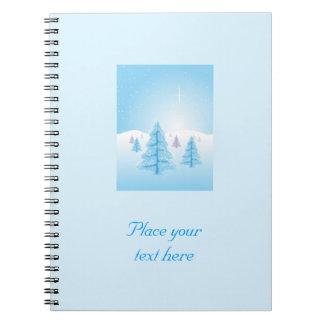 Christmas Landscape Notebooks