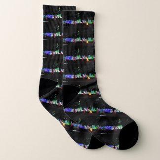 Christmas Landscape Socks 1