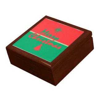 CHRISTMAS LARGE SQUARE GIFT BOX