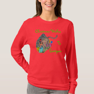 Christmas Lemur T-Shirt