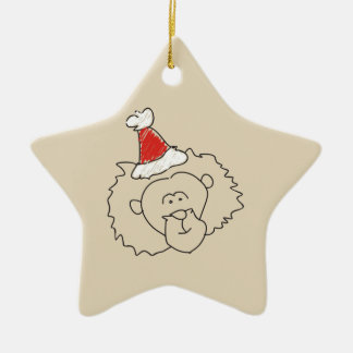 Christmas Leo Astrology Sign Red Star Beautiful Christmas Ornament