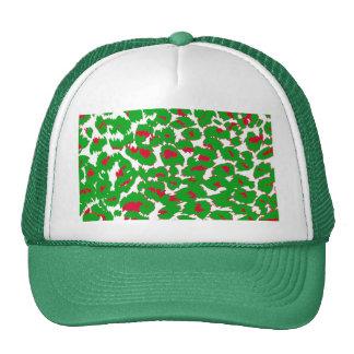 Christmas Leopard Spots Pattern Cap