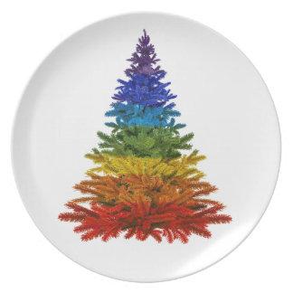 Christmas LGBT Dinner Plate