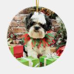 Christmas - Lhasa Apso - Parker Christmas Ornament