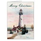 Christmas Light Christmas Card Blank Card