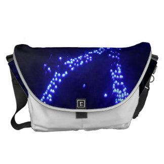 CHRISTMAS LIGHTS 2 MESSENGER BAGS