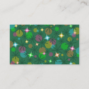 Cute christmas tree business cards business card printing zazzle uk christmas lights business card template accmission Gallery