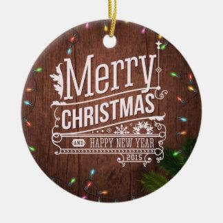 Christmas Lights Christmas Ornament