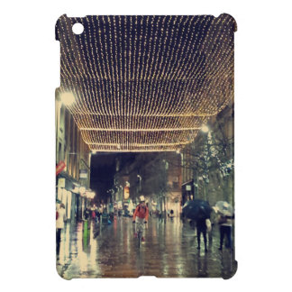 Christmas Lights in Glasgow, Scotland Case For The iPad Mini