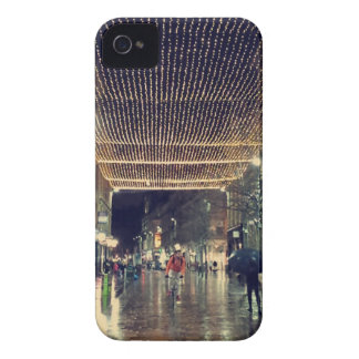 Christmas Lights in Glasgow, Scotland iPhone 4 Case