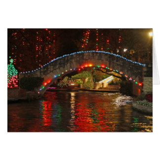 Christmas Lights on Rosita's Bridge Greeting Card