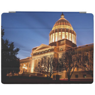 Christmas lights on the Capitol, Little Rock iPad Cover