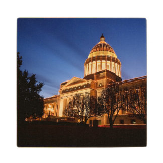 Christmas lights on the Capitol, Little Rock Wood Coaster
