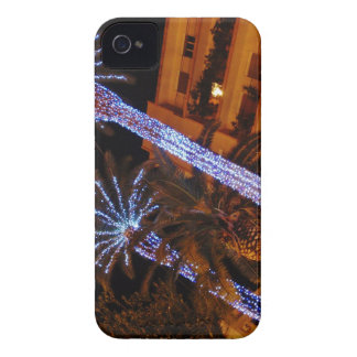 Christmas lights Sicily iPhone 4 Case-Mate Case