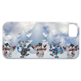 Christmas Line Dance Barely There iPhone 5 Case