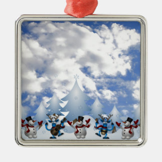 Christmas Line Dance Christmas Ornament