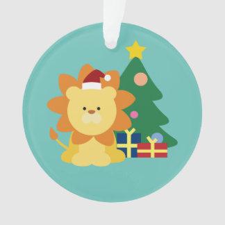 Christmas Lion Ornament