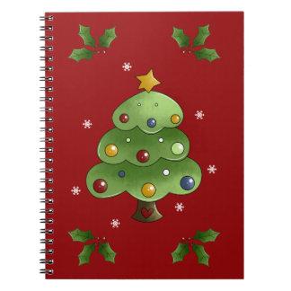 Christmas List Spiral Notebook