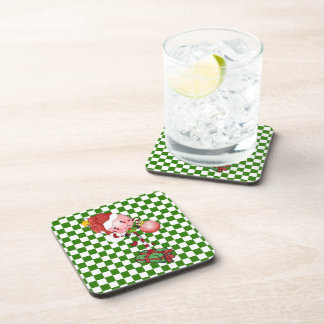 Christmas Lollipop Drink Coasters