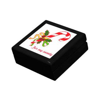 Christmas lollipop small square gift box