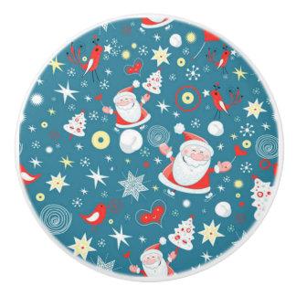 Christmas Love Ceramic Knob
