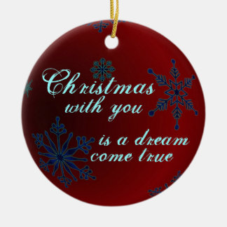 Christmas Love Ornament