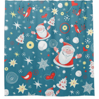 Christmas Love Shower Curtain