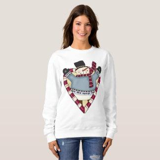 Christmas Love snowman Holiday sweatshirt