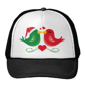 Christmas Lovebirds Hat