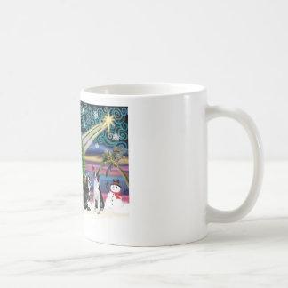 Christmas  Magic-Boston Terrier (2) Coffee Mug