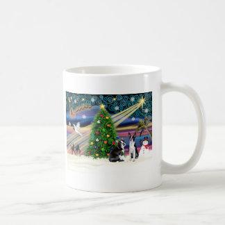 Christmas  Magic-Boston Terrier (2) Mugs