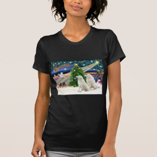 Christmas Magic Kuvasz (two) T-Shirt