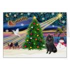 Christmas Magic Schipperke Card
