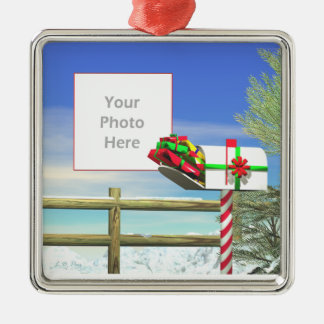 Christmas Mail (photo frame) Christmas Ornament