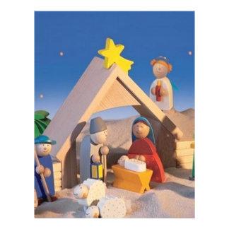 Christmas Manger Scene 21.5 Cm X 28 Cm Flyer