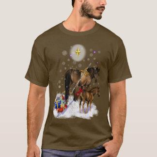 Christmas Mare and Baby Shirt