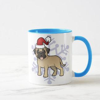Christmas Mastiff / Bullmastiff Mug